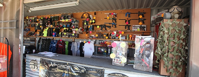 Photo of Gladiator Paintball Park Pro Shop