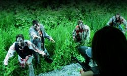 Photo of zombies attacking
