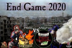 End Game 2020 flyer
