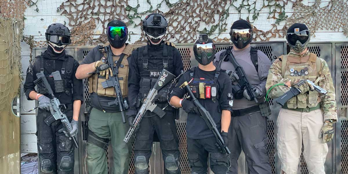 Airsoft Campers in gear