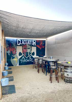 Photo of Gladiator Paintball Axe Lounge