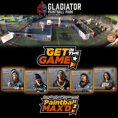 Image of Gladiator Paintball Max'd